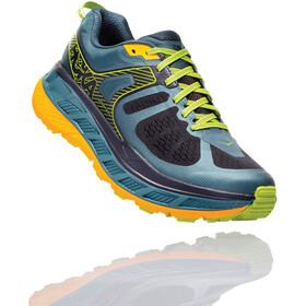 Hoka One One Stinson ATR 5 Running Shoes Men Mallard Green/Gold Fusion